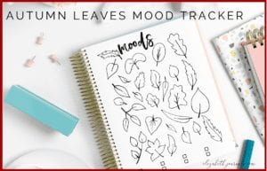 This autumn leaf mood tracker is a one-page tracker. The different leaves can be colored in, doodled in, or written in to depict each days mood. The mood key is located at the bottom of the page where there is space for three different moods. If you love autumn (or fall) and want to track your moods, this bullet journal layout is perfect for you! This printable is great for any person wishing to add some autumn flair to their planner. Instantly download the PNG of this design once you purchase the listing. You will get one download to use immediately!