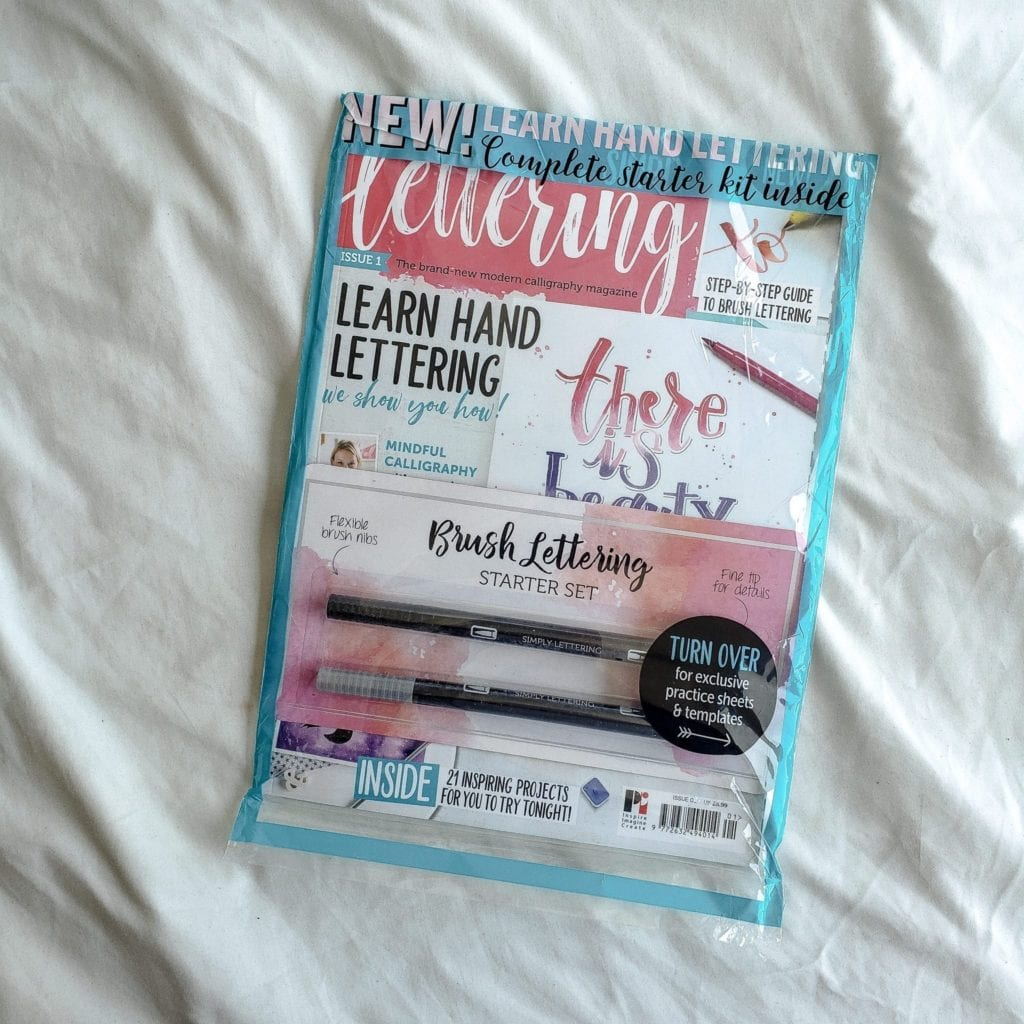 simply lettering magazine