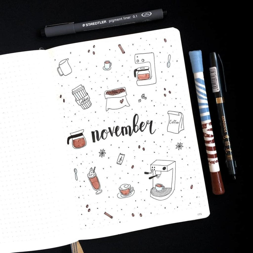 Hello November by @seala.bujo