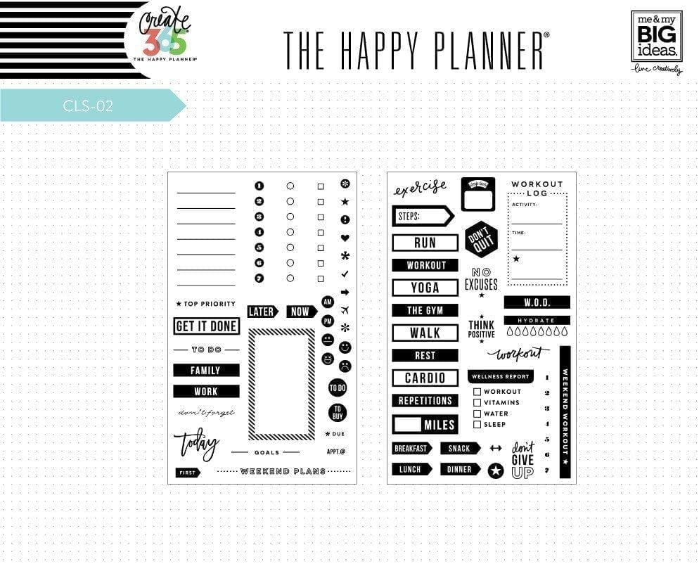 Planner to Do and Planner Everyday Stamp Sets
