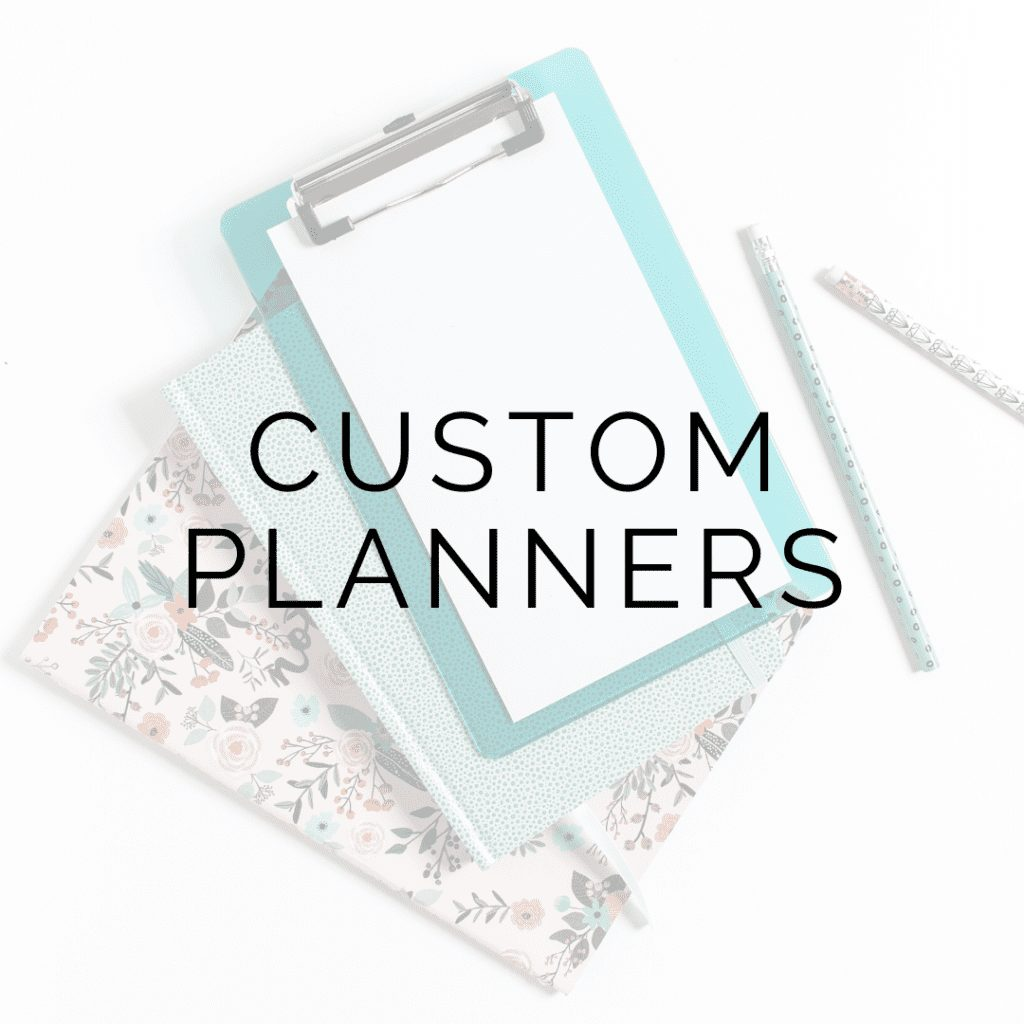 custom planners icon