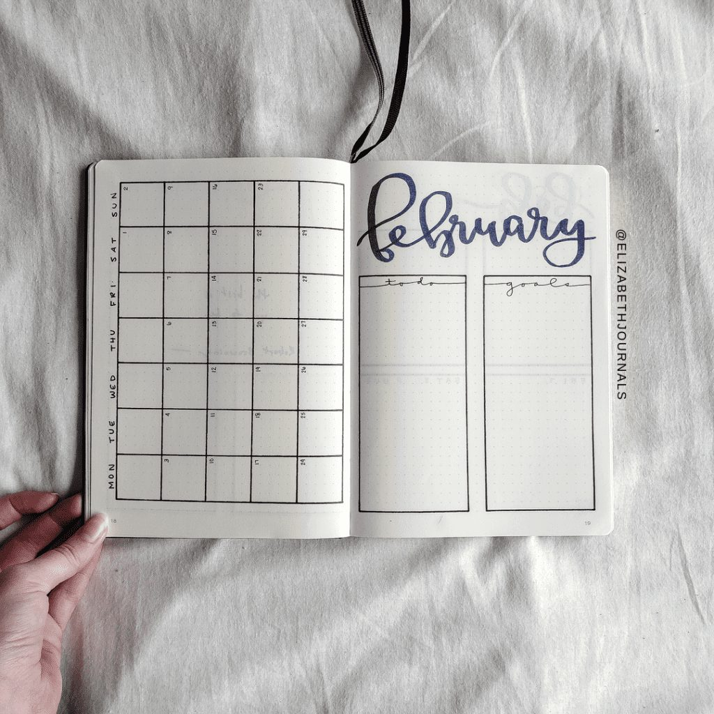 For Victoria's planner, the primary color used is dark blue. Further, the layouts involved include a title page, year at a glance, monthly calendar...