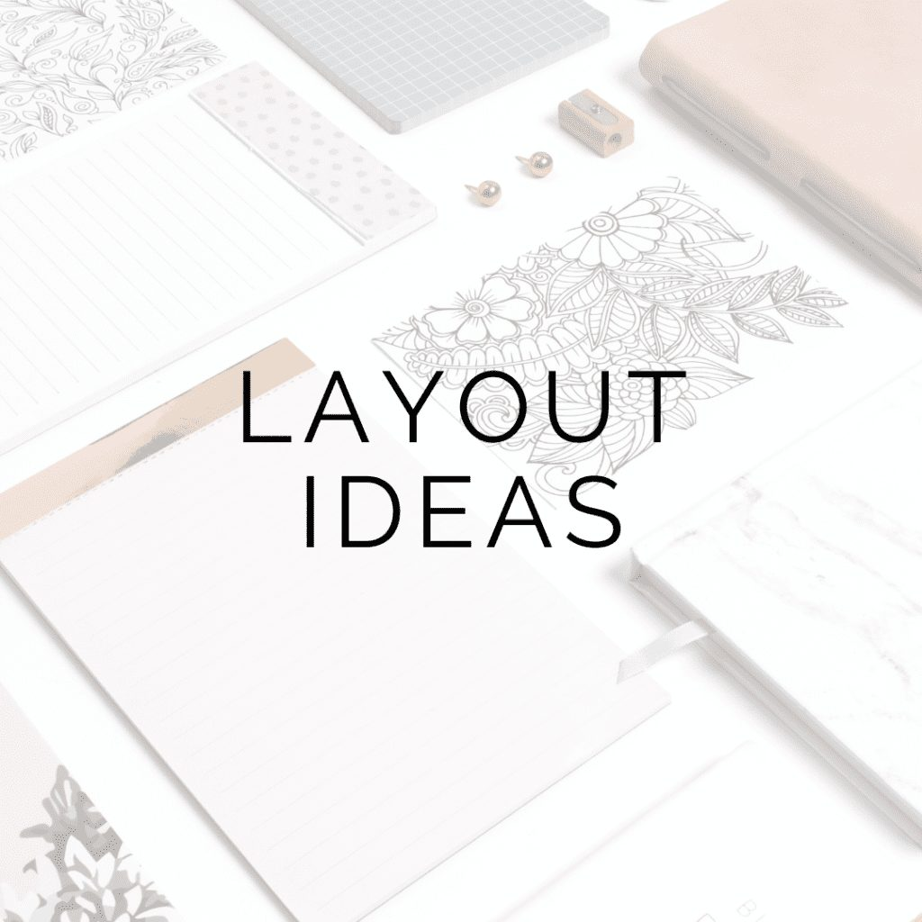 layout ideas icon