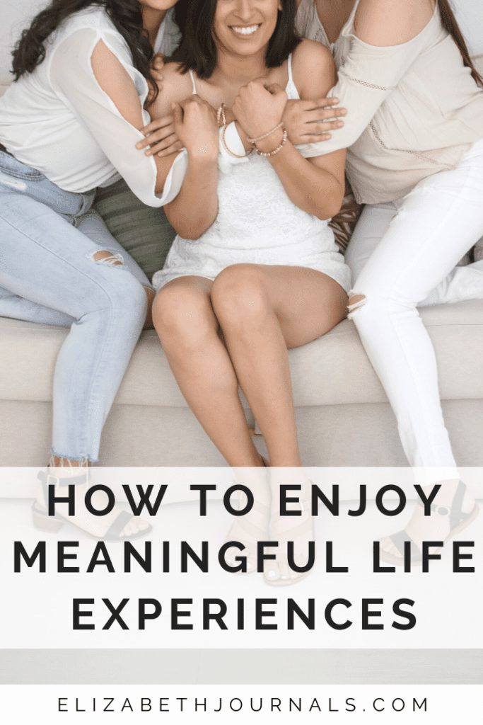 When was the last time you honestly had a meaningful life experience? Read on and, you'll find more advice on how you can enjoy more meaningful experiences.