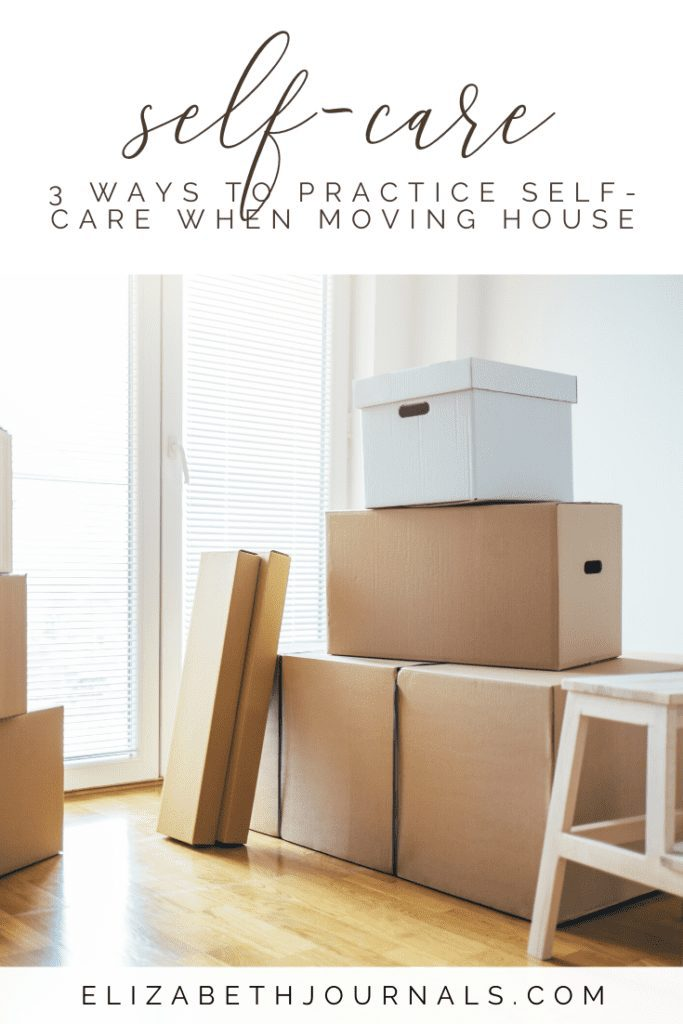 It's important to practice self-care when you're moving to have the energy and sanity to cope. Here are a few self-care ideas for moving house.