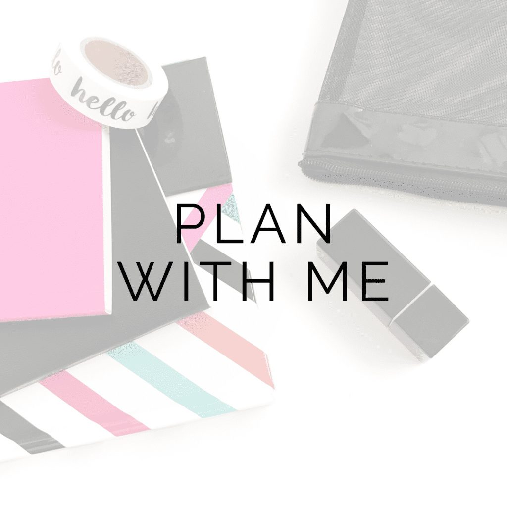 plan with me icon