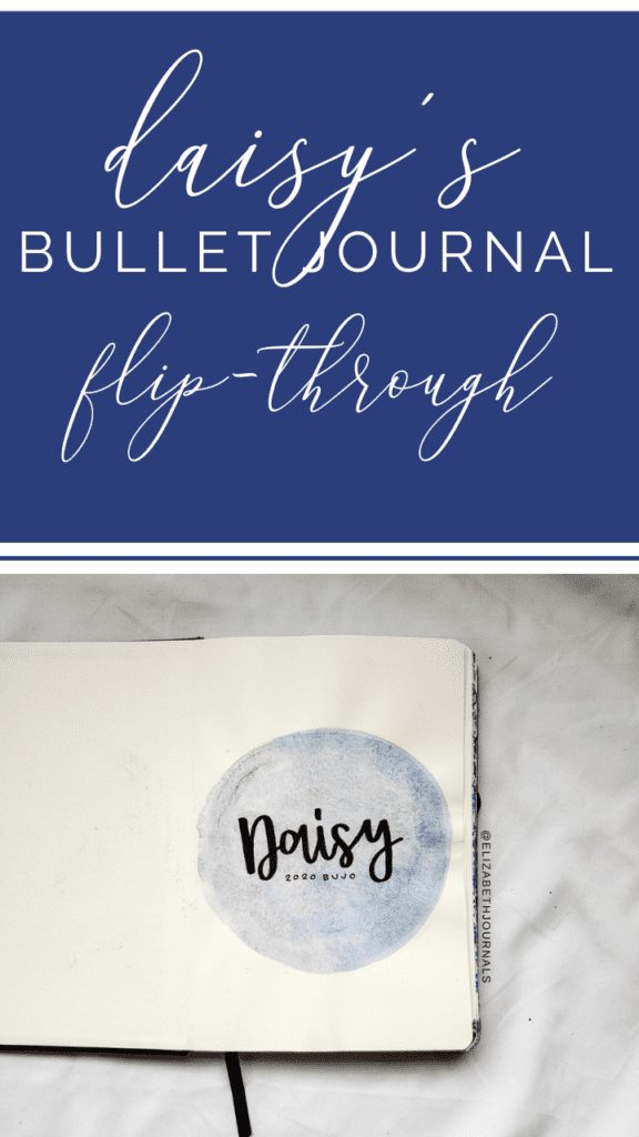 For Daisy's custom planner, the primary color used is Prussian blue. Further, the layouts involved include a title page, future log, monthly calendar, and weekly grid.  Here you can read more about Daisy's planner.