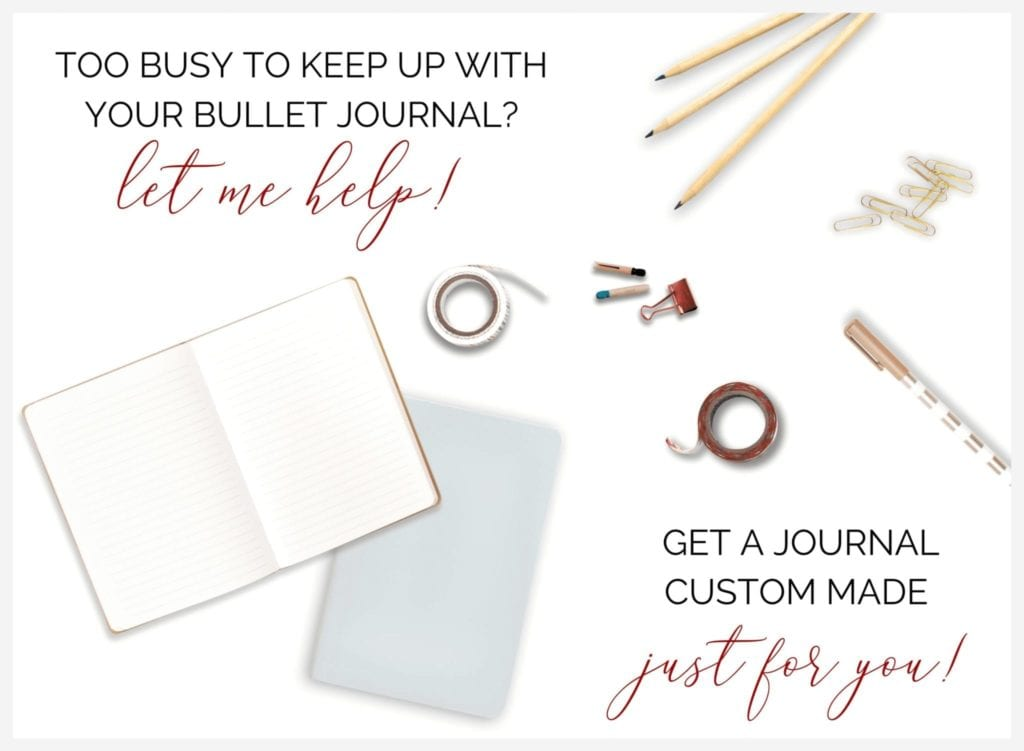 custom bullet journal banner image