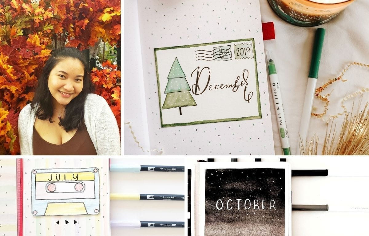 This month's featured bullet journal is Dee of @heraldeecreates on Instagram. I chose Dee for this month's feature because her content is amazing and she is such a sweet and reliable person! To stick to her bullet journal content, it is picturesque and satisfying to look at! Anyway, let's get on to meeting Dee of @heraldeecreates!