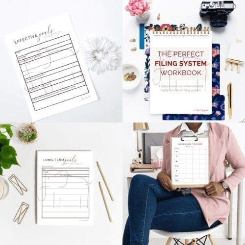 top-freebie-planning printables collage