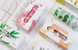 If you're like me, then you love using washi tape, but it can be difficult to find tape to fit you. Here are some of my favorite washi tape sets!