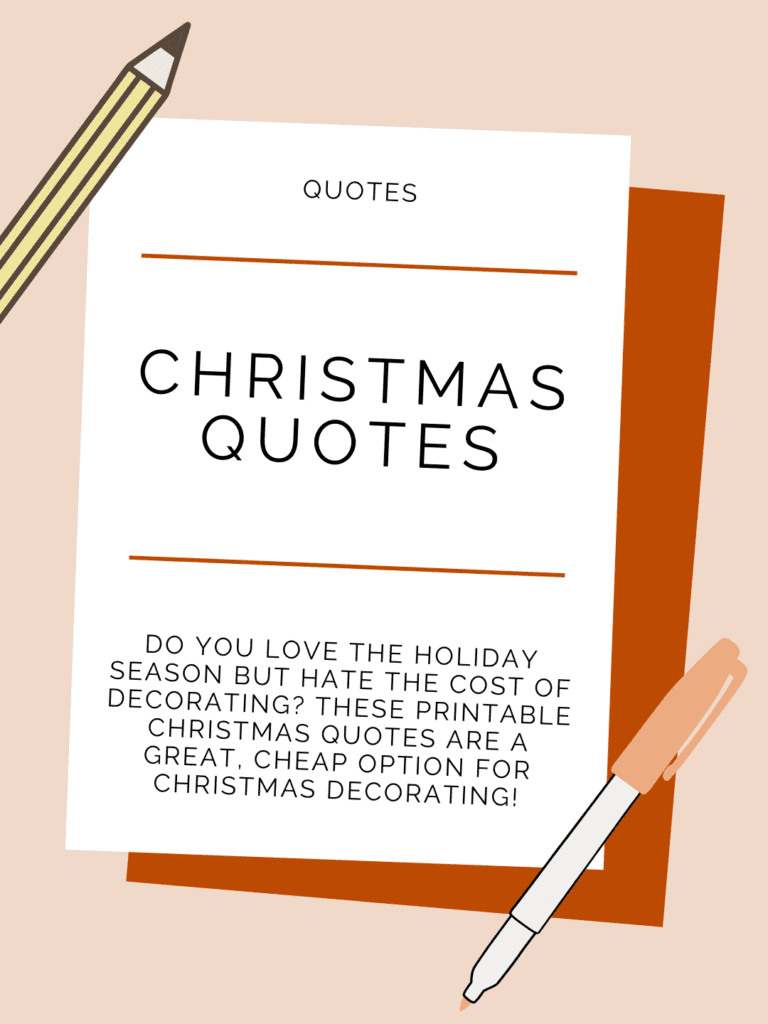 christmas quotes cover