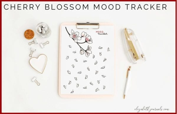 This floral mood tracker is a one-page tracker. The different flowers and buds can be colored in, doodled in, or written in to depict each day's mood. For this tracker, there is no key, though there is space throughout the layout to add a key. If you love flowers or floral patterns and want to track your moods, this bullet journal layout is perfect for you! This printable is great for any person wishing to add some florals to their planner. Instantly download the PNG of this design once you purchase the listing. You will get one download to use immediately!