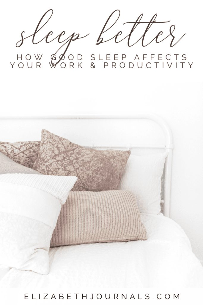 Lack of sleep is the biggest performance killer. This article will break down the relationship between good sleep and productivity.
