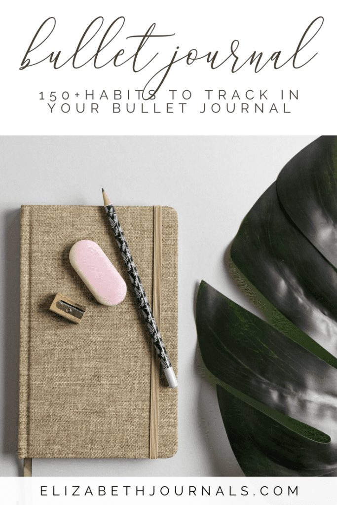 There are dozen upon dozens of different things you can track in your bullet journal. This article is full of habit tracking inspo and more!