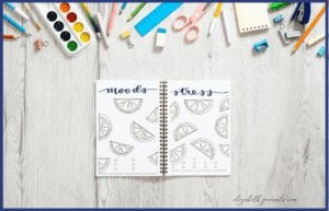 Do you love fun summer themes? This lemon mood and stress tracker combo fit perfectly into a fun summer theme! Additionally, all lettering and imagery is hand-drawn. These bullet-journal-inspired downloads can be printed off and added to any planner or journal. Instantly download the PDF of these designs once you purchase the listing. You will get one download to use immediately!