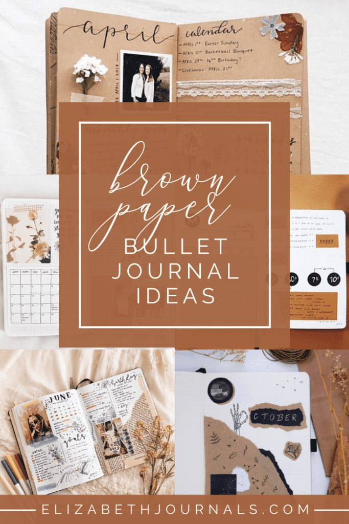 I am super inspired by the brown paper look and for that reason, I wanted to share some of the layouts that inspire me so that you could also be inspired!