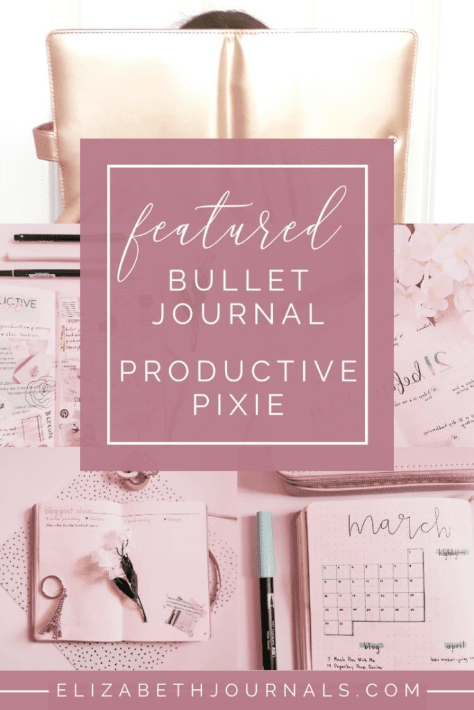 This month's feature is Pixie because her content is super cute and she has a great story to tell! Let's get on to meeting Pixie of Productive Pixie!