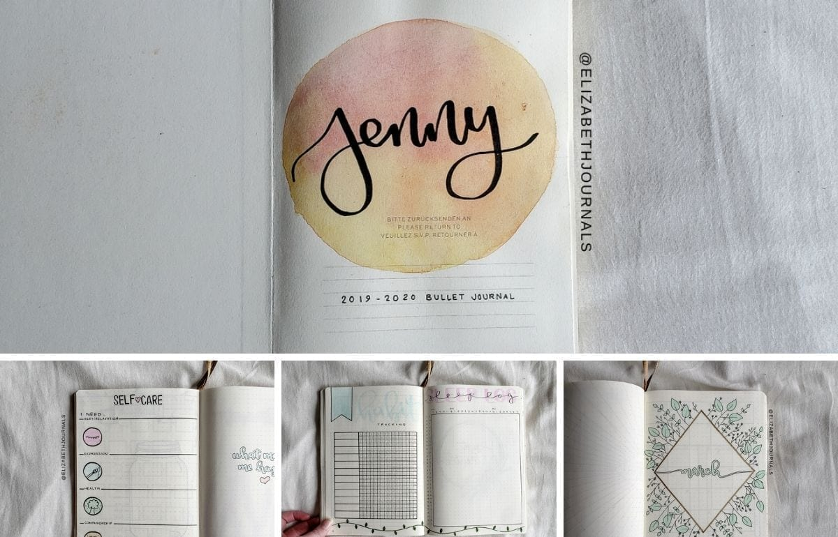For Jenny's planner, the primary colors used are pastel shades of pink, purple, blue, green, and yellow. Further, the layouts involved include...