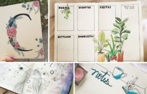 This month's bullet journal feature is @carolines.journal. Caroline's work is absolutely gorgeous and super unique and creative. Check her out!