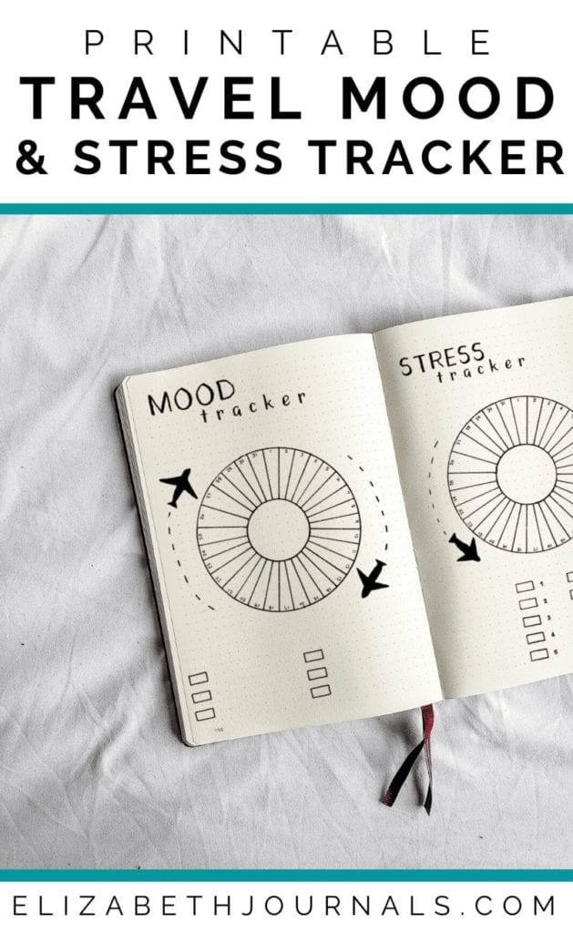 Are you a travel fanatic? This circular travel mood and stress tracker combo fit perfectly into any traveler's planner! Additionally, all imagery is hand-drawn. These bullet-journal-inspired downloads can be printed off and added to any planner or journal. Instantly download the PDF of these designs once you purchase the listing. You will get one download to use immediately!