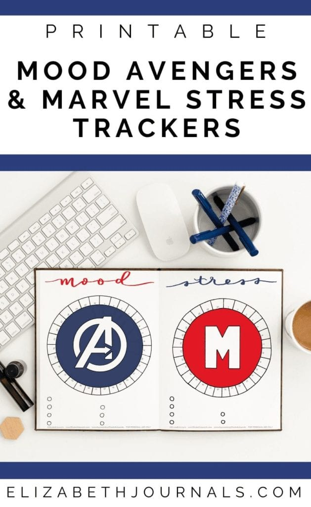 Are you a Marvel or Avengers fan? These marvel and avengers mood and stress trackers combo fit perfectly into any superhero fan's planner! Additionally, all imagery is hand-drawn or based on hand-drawn art. These bullet-journal-inspired downloads can be printed off and added to any planner or journal. Instantly download the PDF of these designs once you purchase the listing. You will get one download to use immediately!