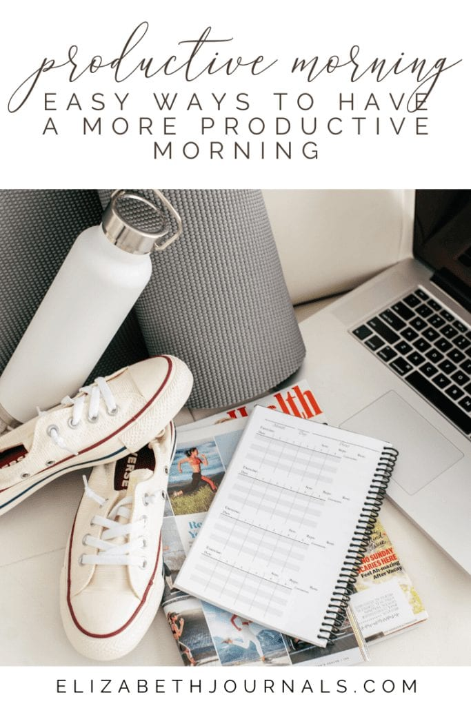 A productive day starts with a productive morning. To start your day off on the right foot, try out these easy ways to have a more productive morning.