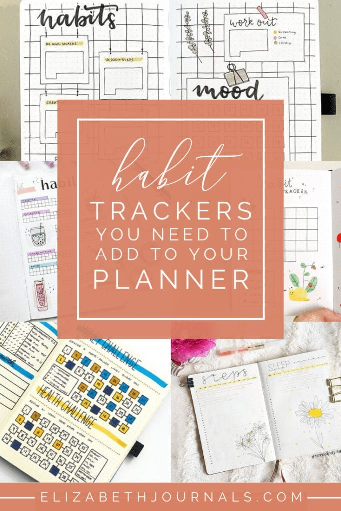 Of the most common bullet journaling spread are trackers. Here are over 20 excellent habit trackers that you need to try in your bullet journal!