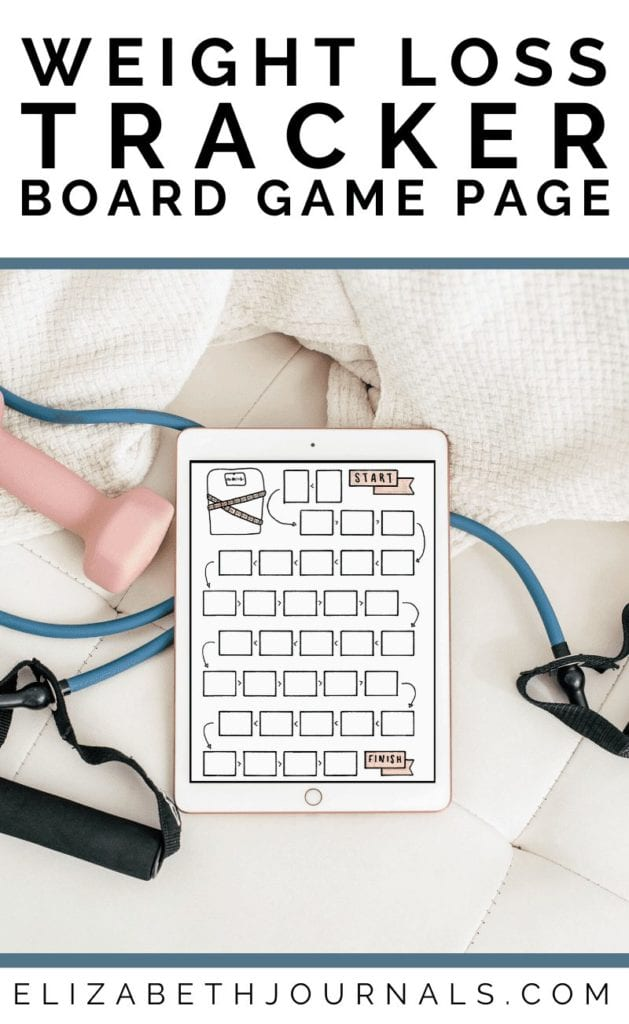 Are you looking for a more fun way to keep track of your weight ? Get the Board Game Style Weight Tracker for a perfect addition to any planner.