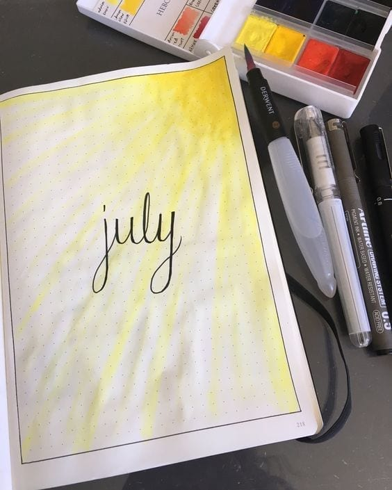 yellow sun july cover pinterest