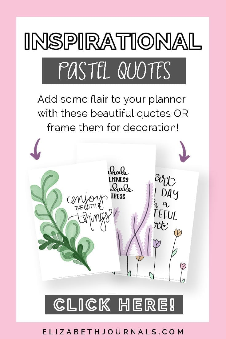 pinterest image1-inspirational pastel quotes-add some flair to your planner with these beautiful quotes or fram them for decoration-click-here-3 product mockups