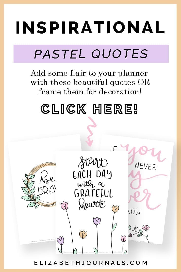 pinterest image2-pastel inspirational quotes-add some flair to your planner with these beautiful quotes or fram them for decoration-click-here-3 product mockups
