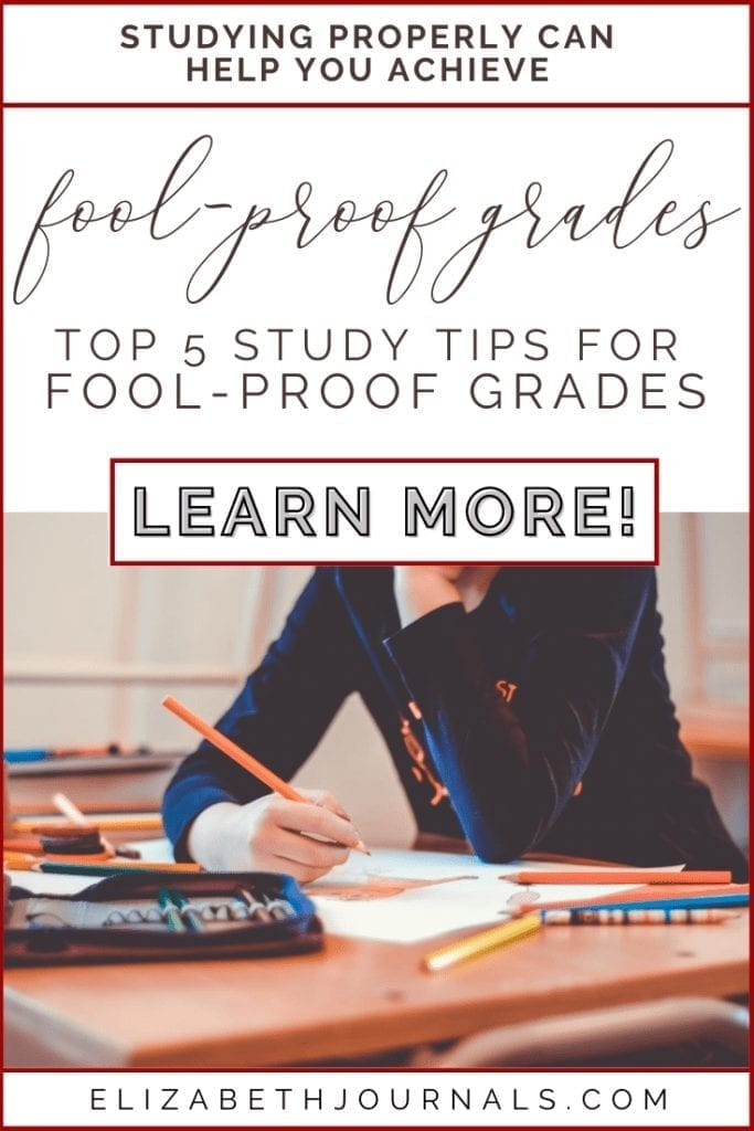 They say you should work smart, not hard. Fortunately, the same holds true for studying. Here are 5 study tips for fool-proof grades