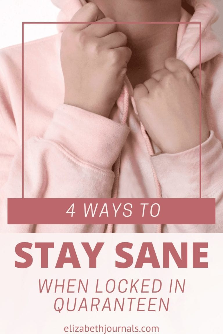 It's starting to feel like staying safe requires giving up sanity. If you're going stir-crazy, here's how to stay sane during quarantine.