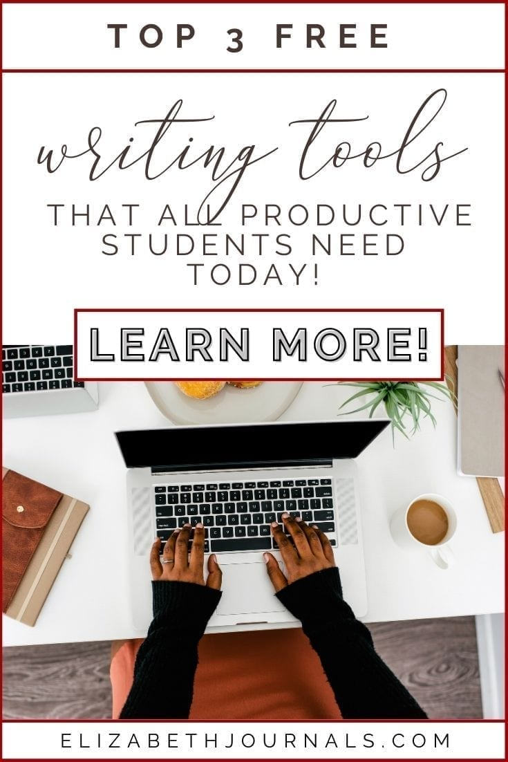 Being a student is already challenging, but can be made easier! Increase your productivity and with these online writing tools for free!