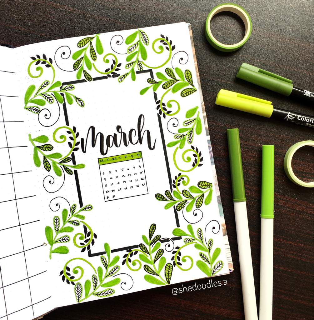 shedoodles-green-march-cover