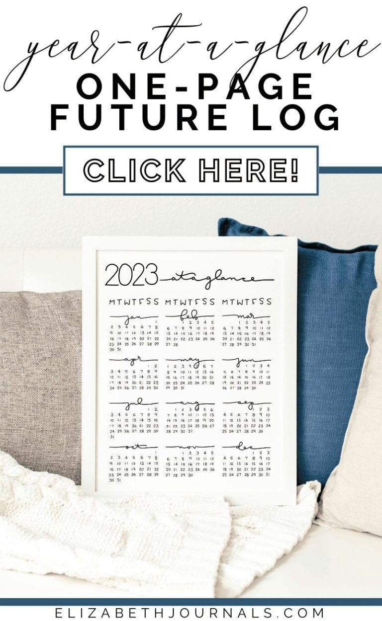 If you are looking for a very simple overview of the year to reference, this Year At A Glance page is for you! We offer several year-at-a-glance options such as weeks starting on Monday or Sunday, 2021 through 2025, and one page versus two pages. This printable is great for simple and functional planners.