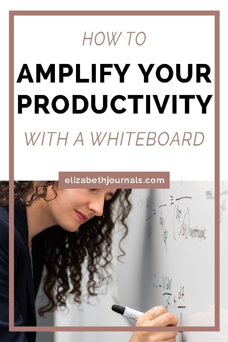 pinterest image 1-how to amplify your productivity with a whiteboard