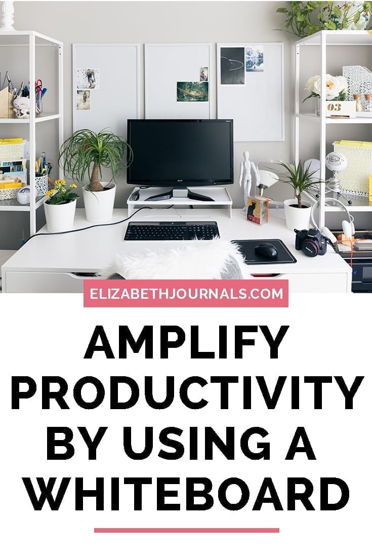 pinterest image 2-how to amplify your productivity with a whiteboard