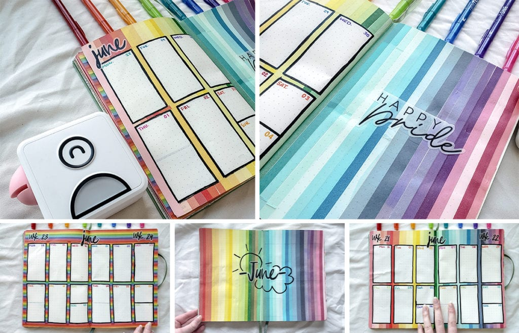 featured image preview rainbow june layouts