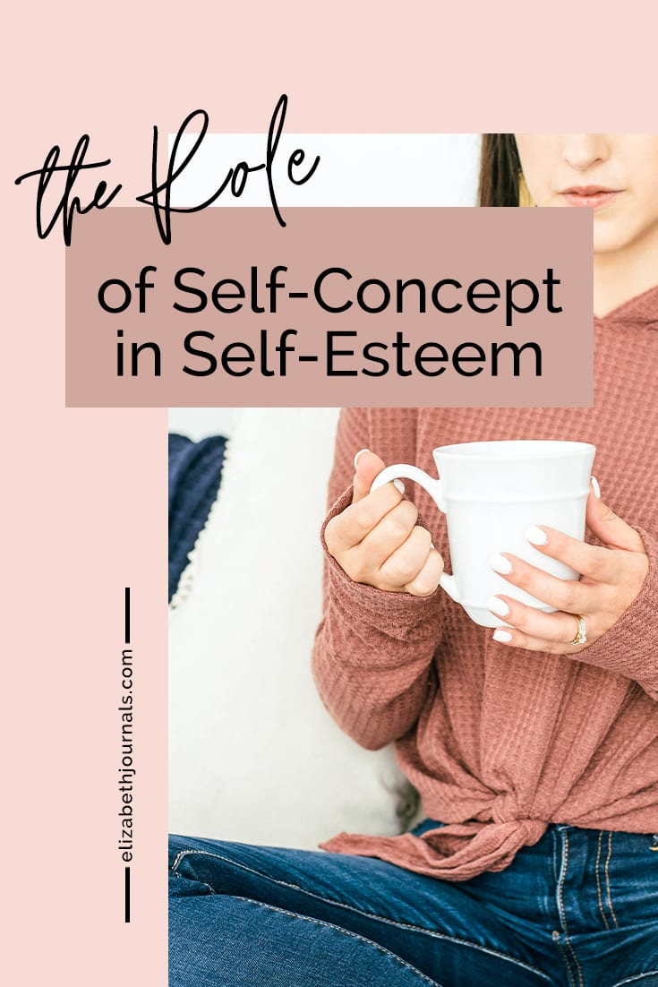 pinterest image-the role of self-concept in self-esteem-image of women holding coffee