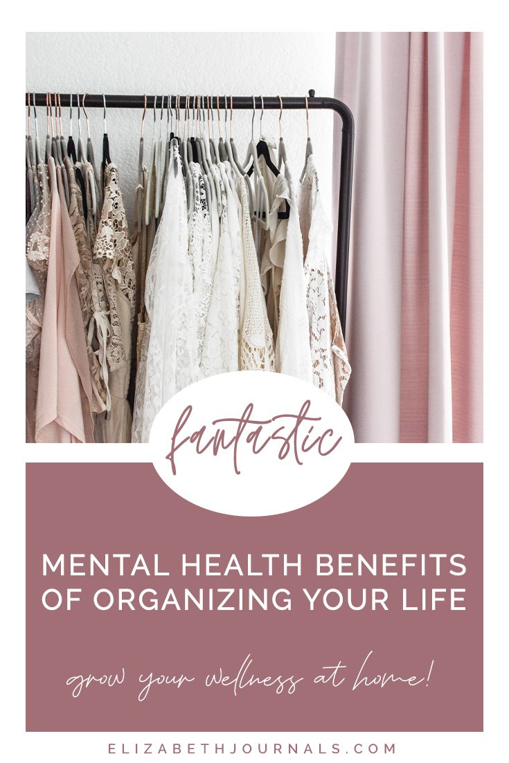 pinterest image-3 fantastic mental health benefits of organizing your life-clothing rack in minimal room with neutral clothing on it copy